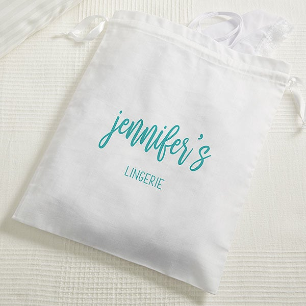 Personalized Shoe Bag