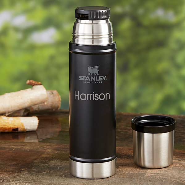 Free Engraving Travel Flask Ideal for Birthdays, Personalised Thermal Flask