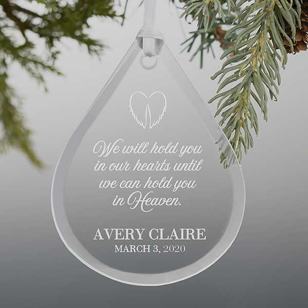 The Grandparent Gift Baby Heaven Miscarriage//Infant Loss Memorial Ornament