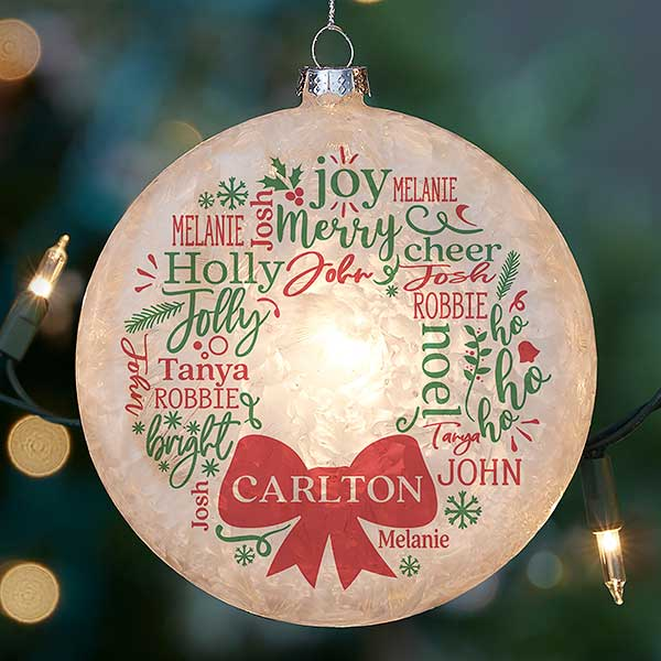 Ornaments Christmas.2019 Personalized Christmas Ornaments Personalization Mall