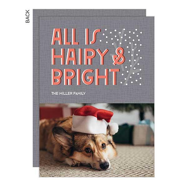Bright Holiday Photo Card