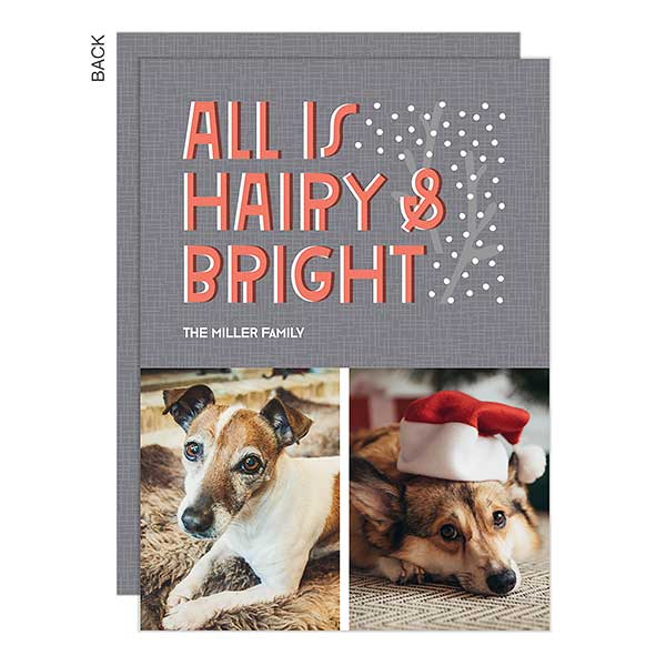 Bright Holiday Photo Card 2