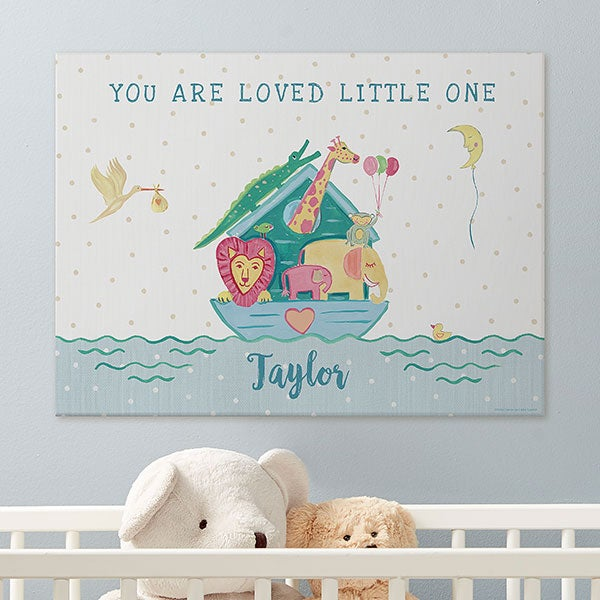 Baby Personalized Wood Nursery Wall Decor