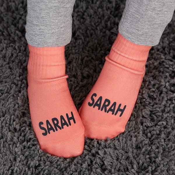 Monogrammed Boys Socks Embroidered Boys Socks Personalized Boys Socks