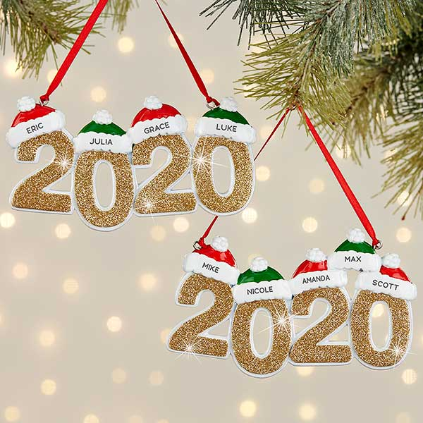 2020 Personalized Christmas Ornaments Personalization Mall