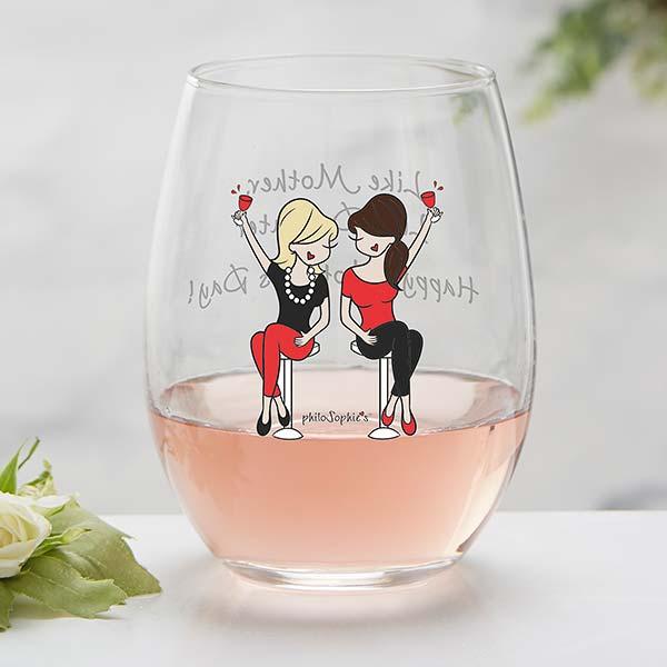 Like Mother Like Daughter Wine Glasses/'