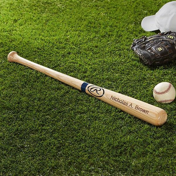 Rawlings Personalized Baseball Bat