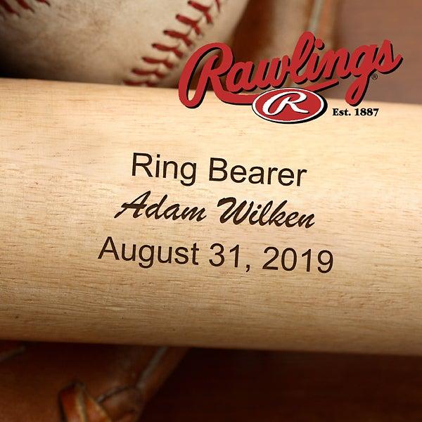 Personalized Wedding Party Baseball Bat - 2887