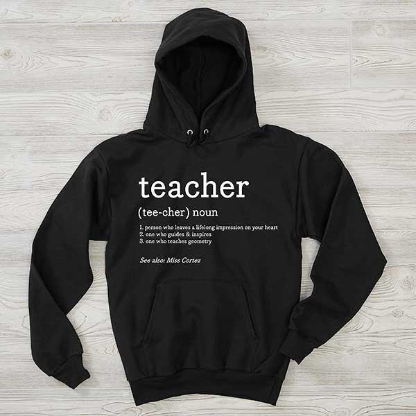 Details about  /Teacher Gift Nutritional Facts T Hanes Unisex Crewneck Sweatshirt