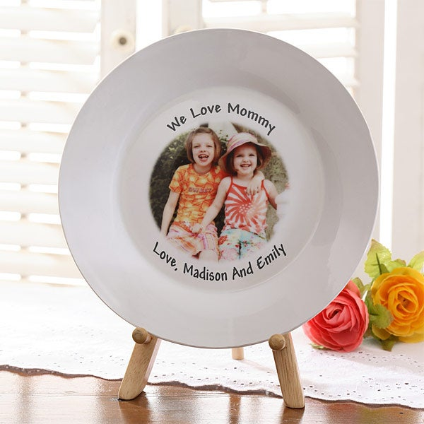 Keepsake Personalized Photo Plate for Her - 3674