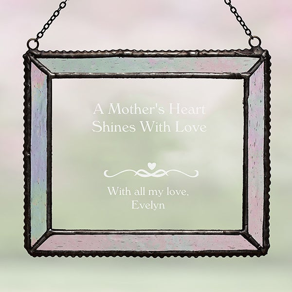 Vintage Glass Personalized Suncatcher for Her - 3727