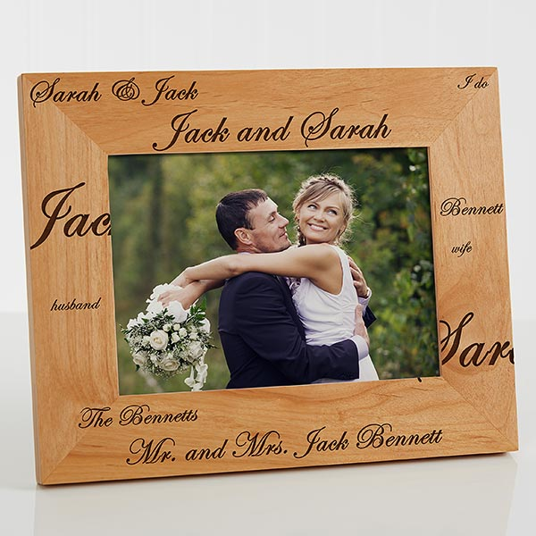 Personalized Wedding Photo Frames Mr And Mrs 3817