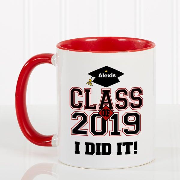 Custom Graduation Mug - Cheers to the Graduate Style - 3833