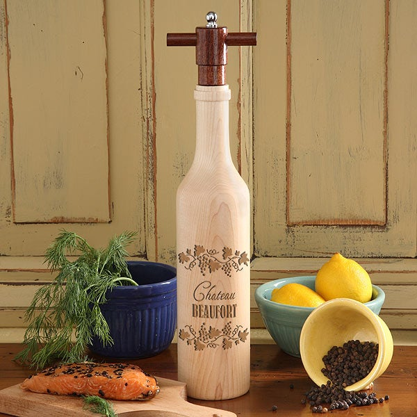 Personalized Pepper Mill
