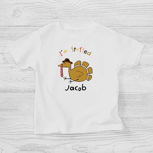 Fall Personalized Gift First Thanksgiving T-shirt Embroidered Toddler Shirt Thanksgiving Turkey Girl Shirt Girl Thanksgiving Outfit