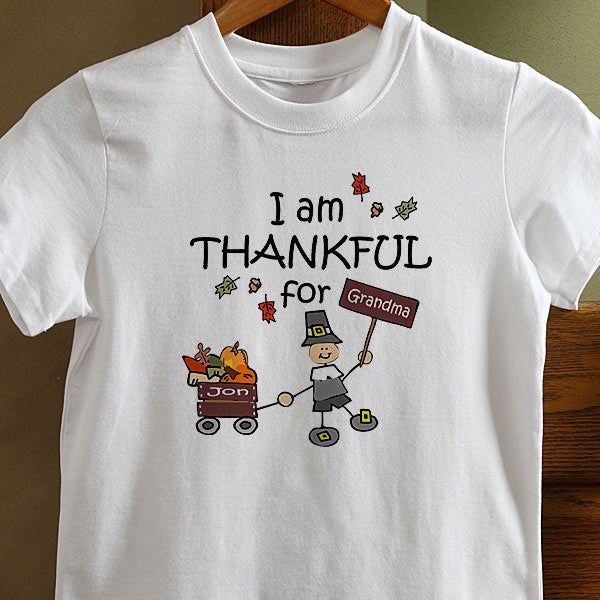4624 i am thankful personalized clothes