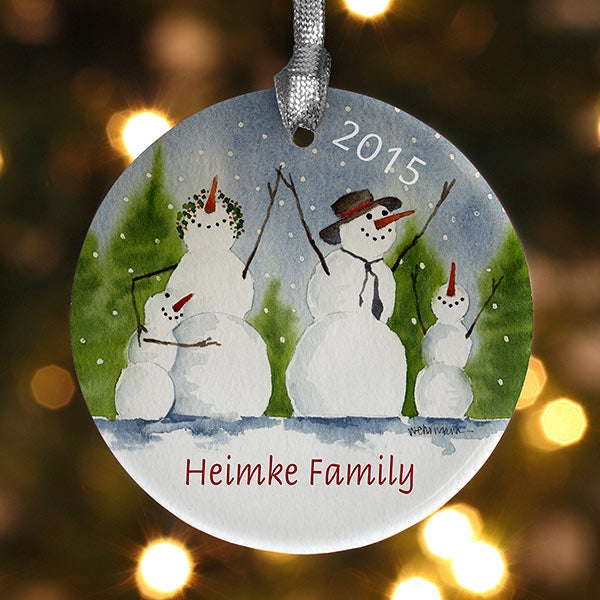 Personlized Christmas Ornaments