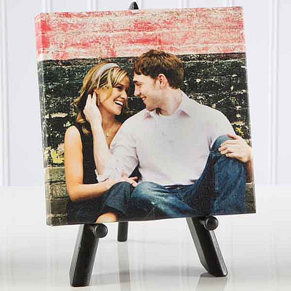 Custom Personalized Photo Canvas Table Top Art - 4798