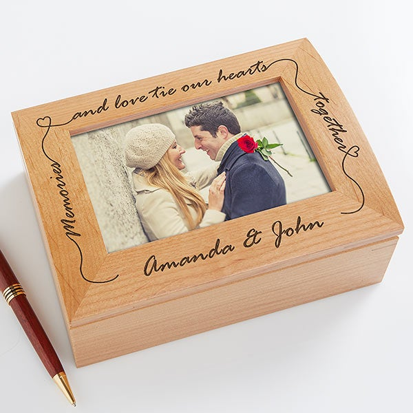 Our Memories Love Personalized Photo Box