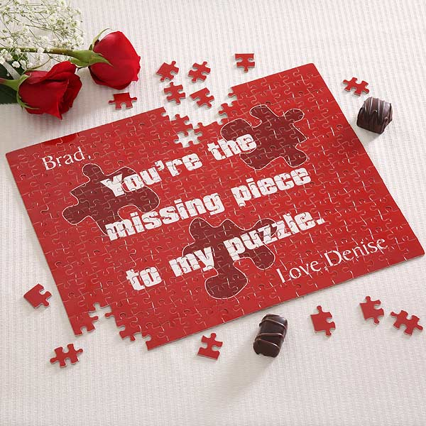 Missing Piece� Personalized Puzzle