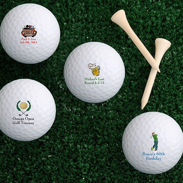 Personalized Golf Balls Design Your Message