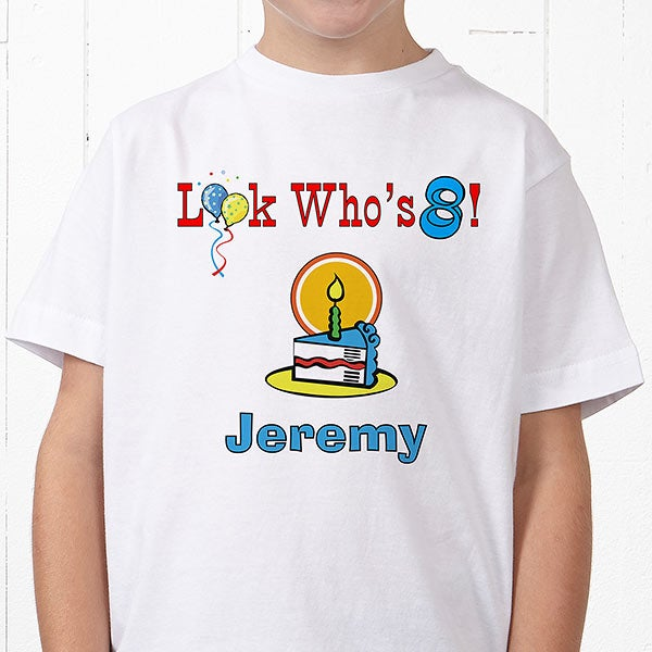 Birthday Kid Personalized HanesR Youth T Shirt