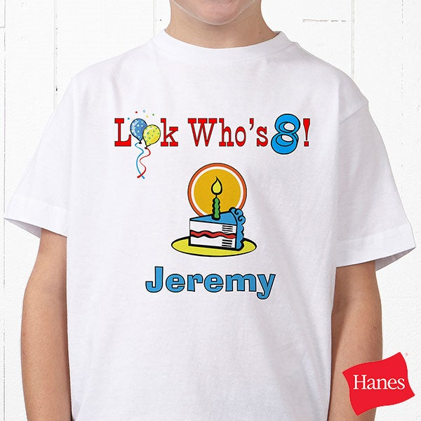 Personalized Kids Birthday Clothes