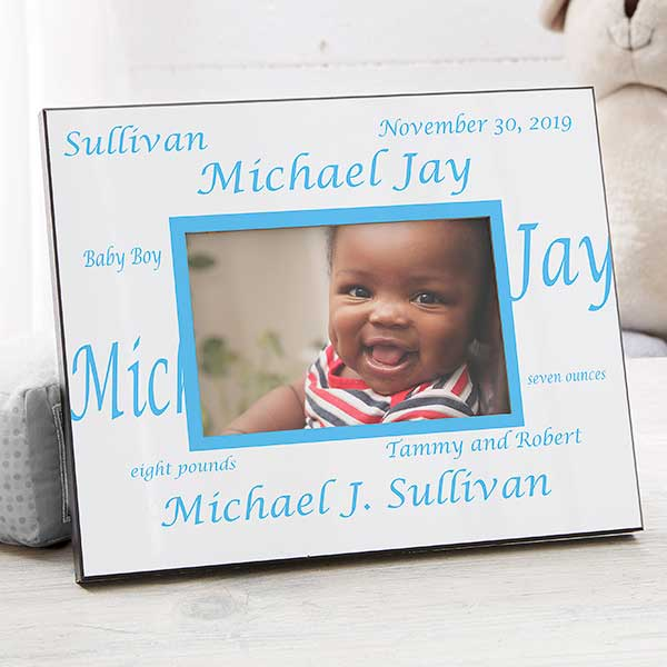 38b6b3cfda2 Personalized Baby Picture Frame - New Arrival - Border