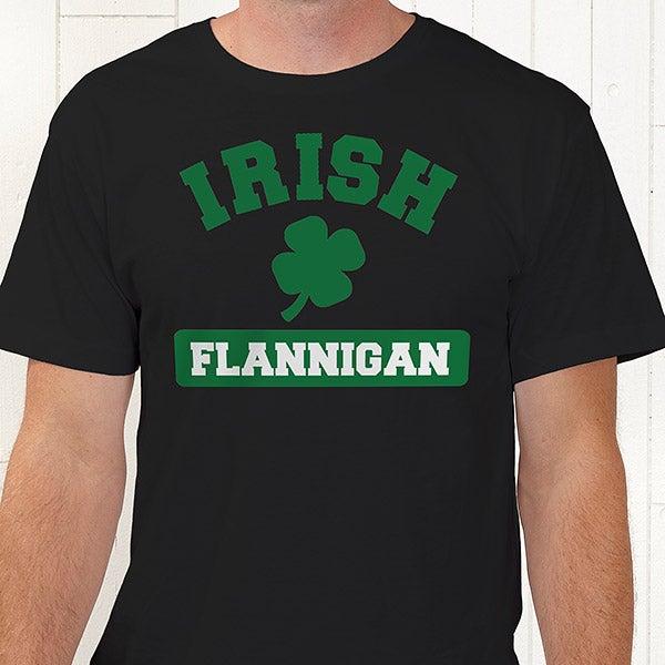 Personalized Irish Shamrock Apparel - 5138
