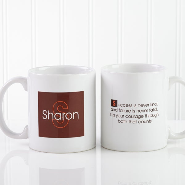 Personalized Quotes With Mugs Custom Coffee XiTluPkZwO