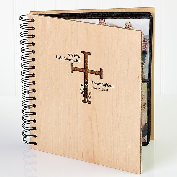 Personalized First Communion Photo Album - 5254