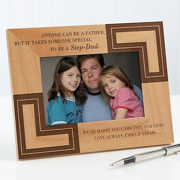 You Are Like A Dad Personalized Step Father Picture Frame - 5421
