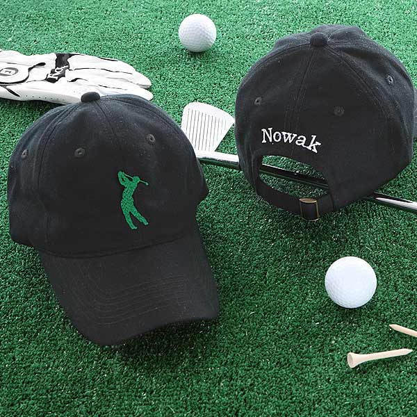 Golf Fan Personalized Golf Hat - 5480