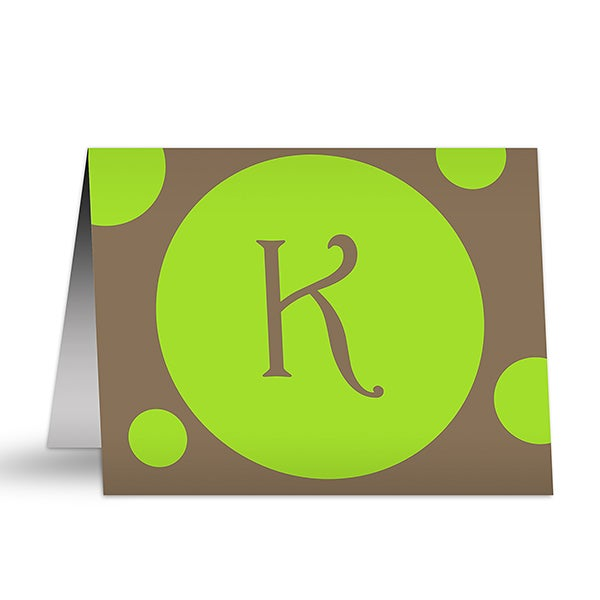Personalized Stationery - Note Cards - In The Spotlight - 5743