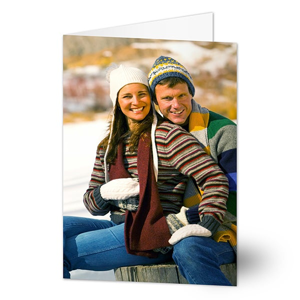 Custom Photo Personalized Christmas Cards - 5817