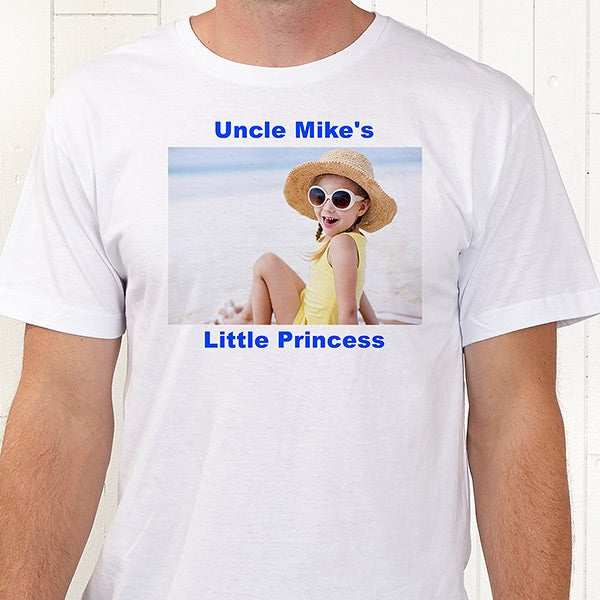 e254f5fe Personalized Photo Shirts and Accessories - Picture This - 6005