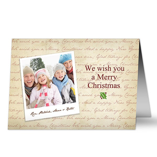 6035 merry christmas digital photo christmas cards