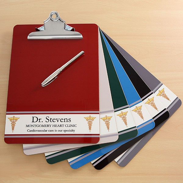 Medical Team Personalized Doctor & Nurse Clipboards - 6261