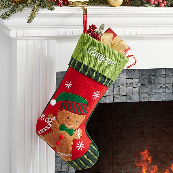 christmas family personalized stockings 6316
