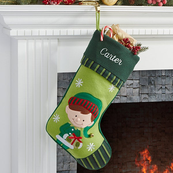 Christmas Family Personalized Stockings - 6316