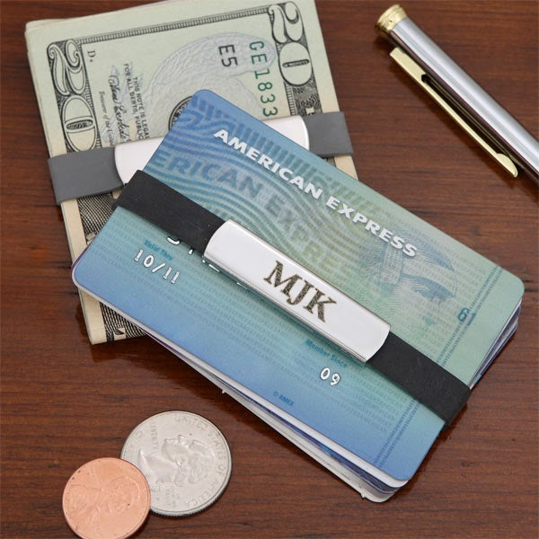 Personalized Money Bands - Custom Money Clips - 6328