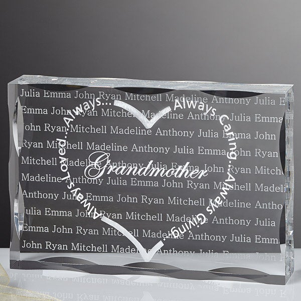 Always Loved Heart Keepsake Personalized Gift - 6493
