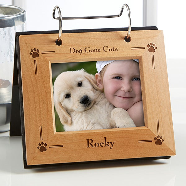 Kitty Cat Photo Album with BABY NAME Personalized 4x6 or 5x7 Pictures IA#286