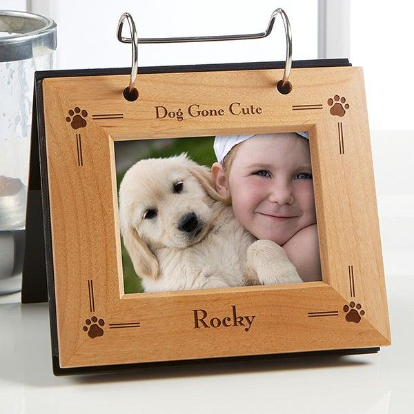 Pet Cat or Dog Personalized Flip Photo Album - 6576