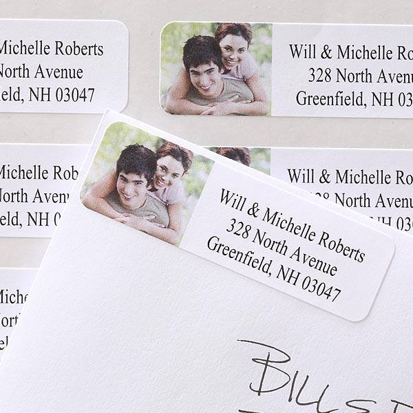 Personalized Photo Address Labels - 6698