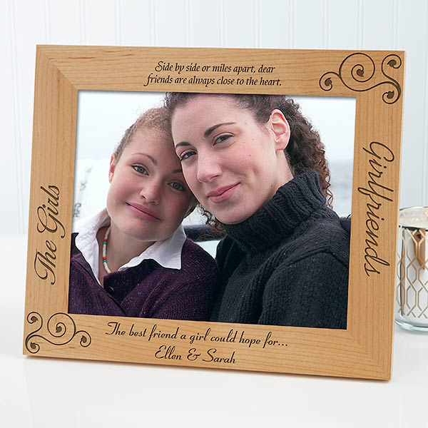Personalized Girlfriends Picture Frames Best Friends 8 X 10