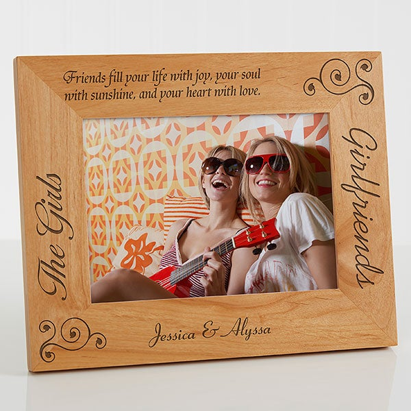 Personalized Best Friends Photo Frame 5x7 For Her