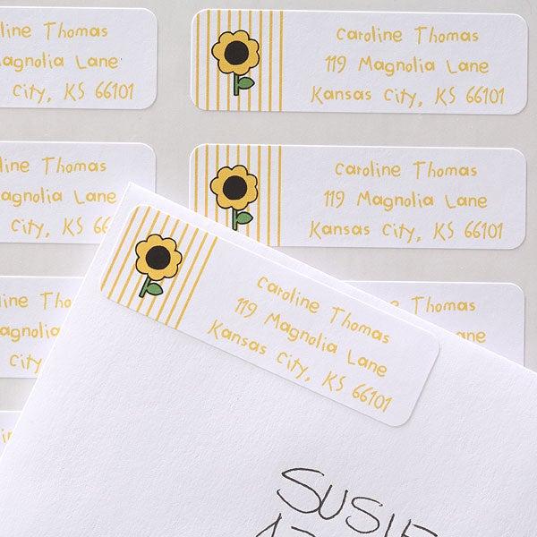 kids personalized return address labels stampin fun