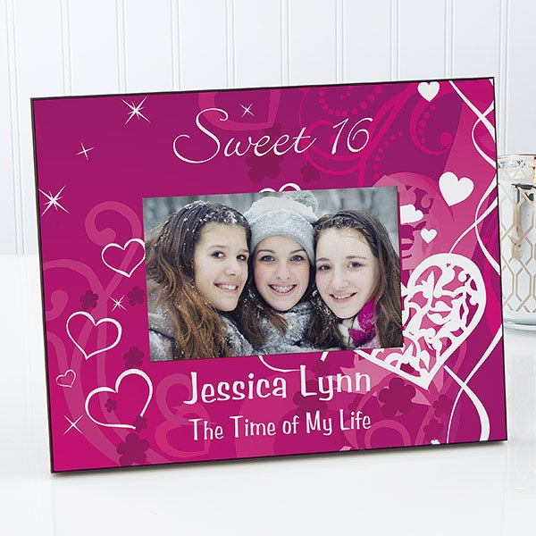 Personalized Sweet 16 Photo Frame