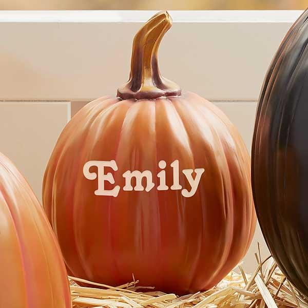 Personalized Decorative Halloween Pumpkins